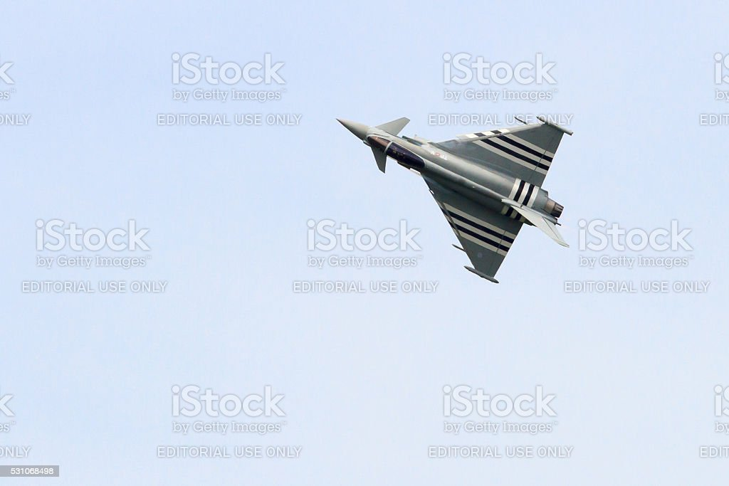 Royal Air Force Eurofighter Typhoon stock photo