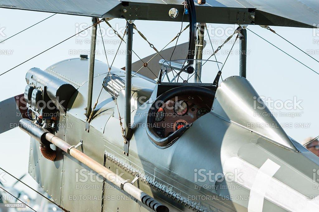 Royal Aircraft Factory S.E.5 stock photo