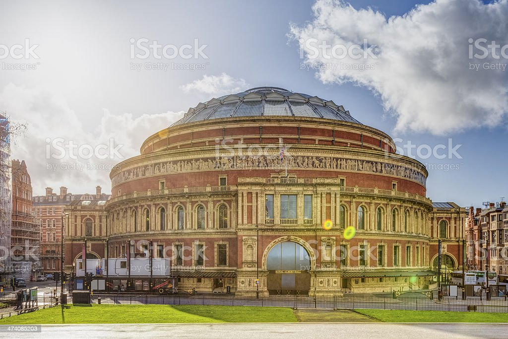 Royal Albert Hall in London - England / UK royalty-free stock photo