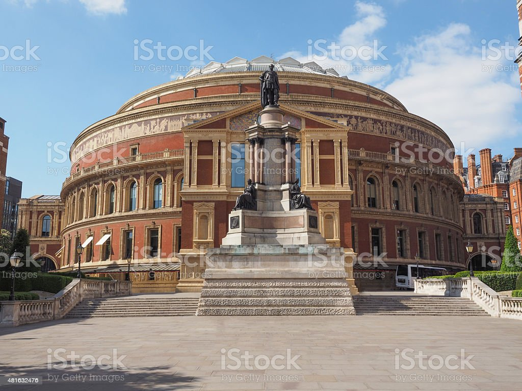 Royal Albert Hall in London stock photo