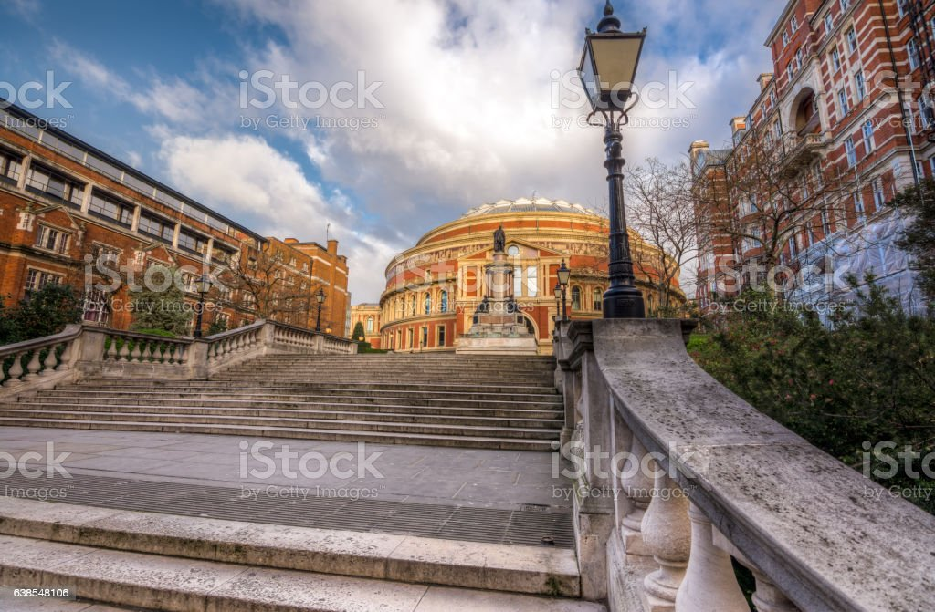 Royal Albert hall in south Kensington, London, UK stock photo