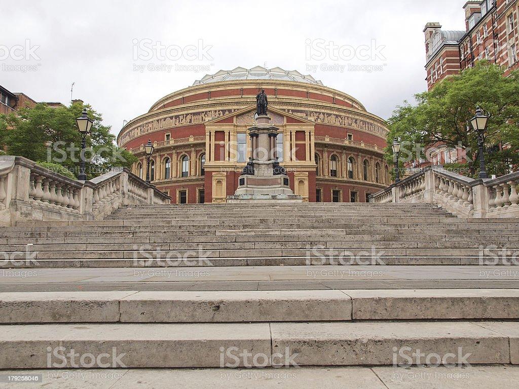 Royal Albert Hall London stock photo