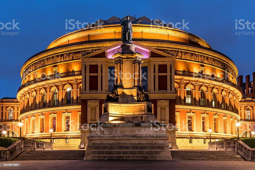 Royal Albert Hall, London stock photo