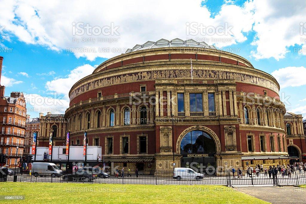 Royal Albert Hall of Arts and Sciences, London stock photo