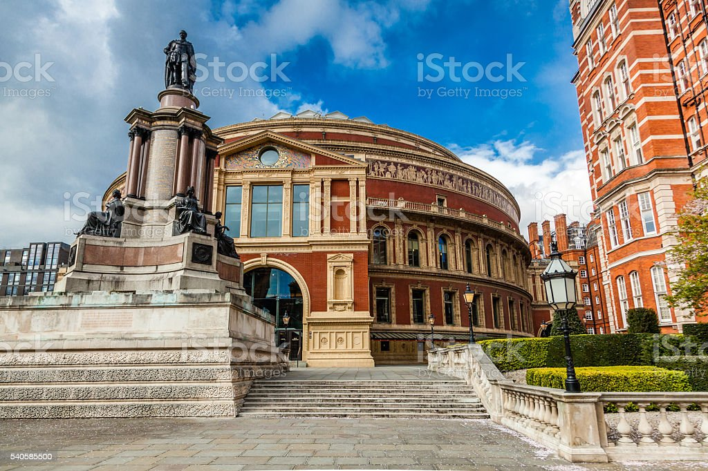 Royal Albert Hall, Opera musical theater, London, England, UK stock photo