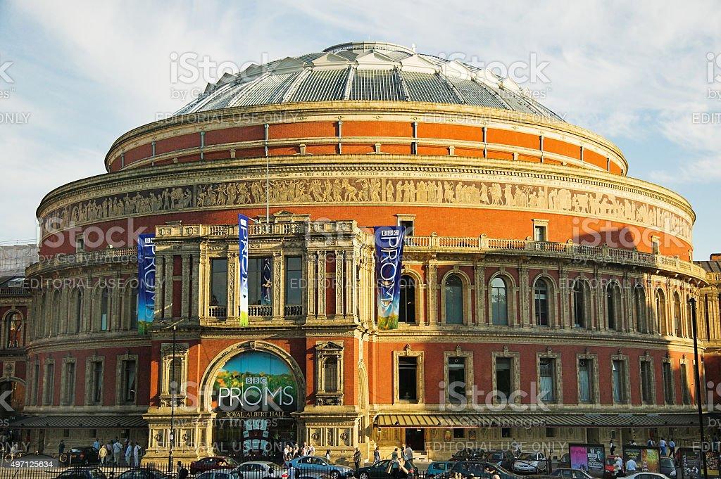 Royal Albert Hall stock photo