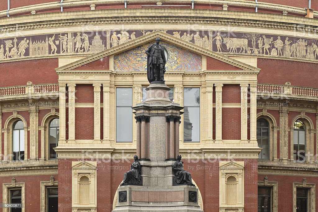 Royal Albert Hall royalty-free stock photo