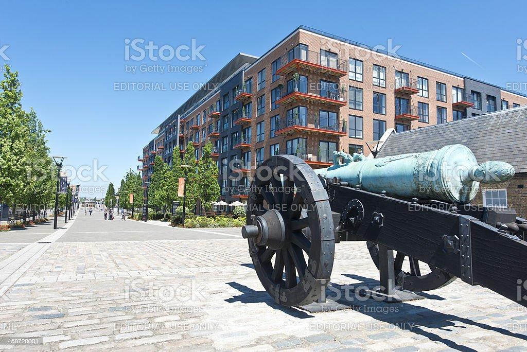 Royal Arsenal, Woolwich stock photo