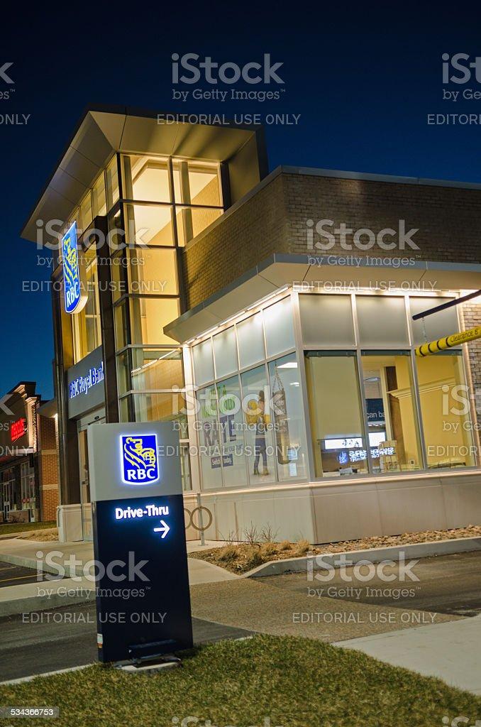 Royal Bank of Canada stock photo