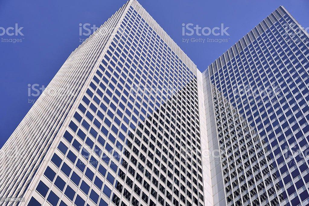 Royal Bank Office Building stock photo