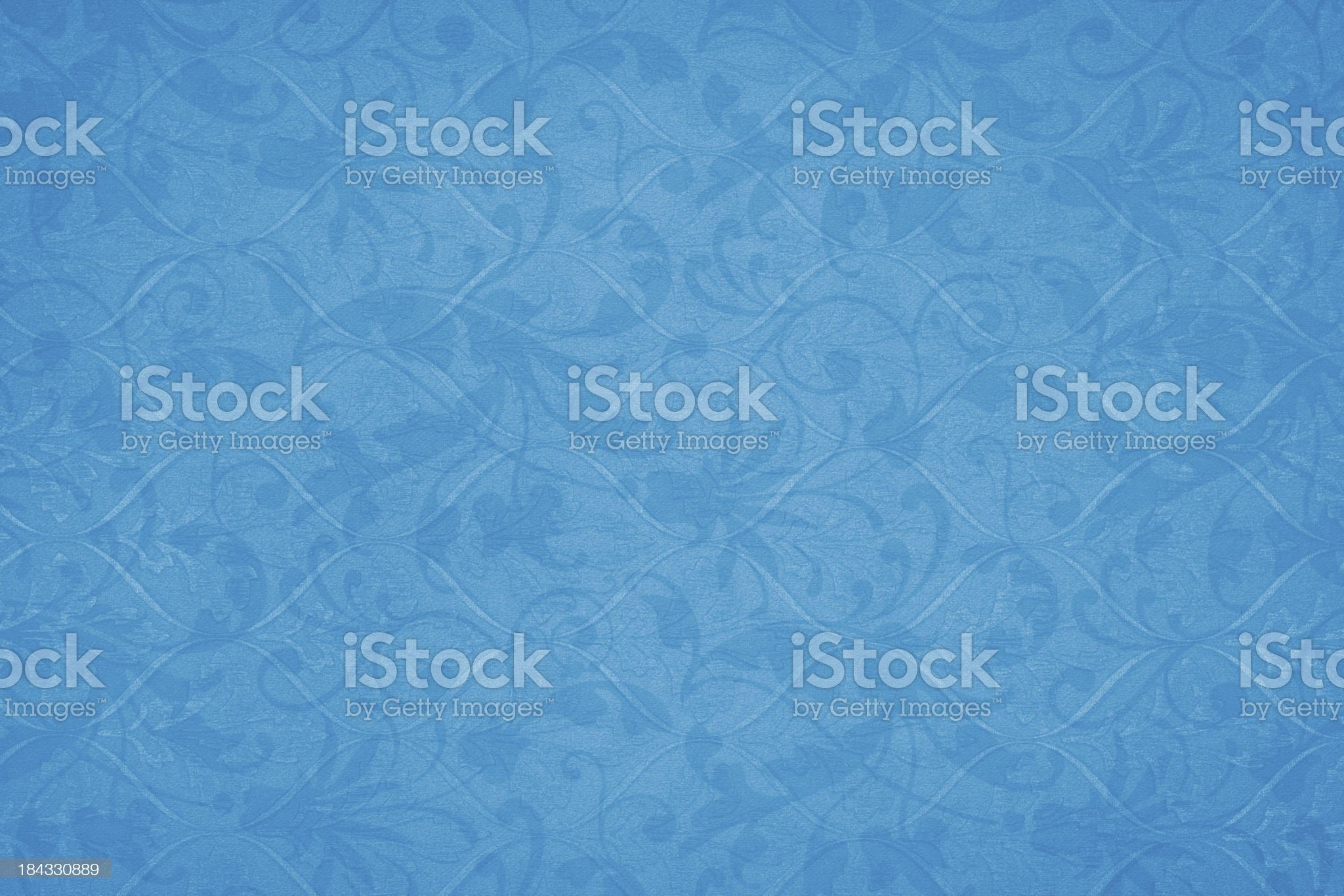Royal Blue Victorian Background royalty-free stock photo