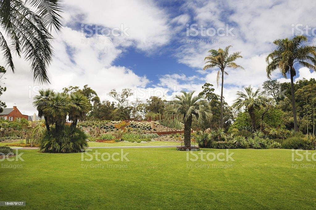 Royal Botanic Gardens, Melbourne, Australia (XXXL) royalty-free stock photo
