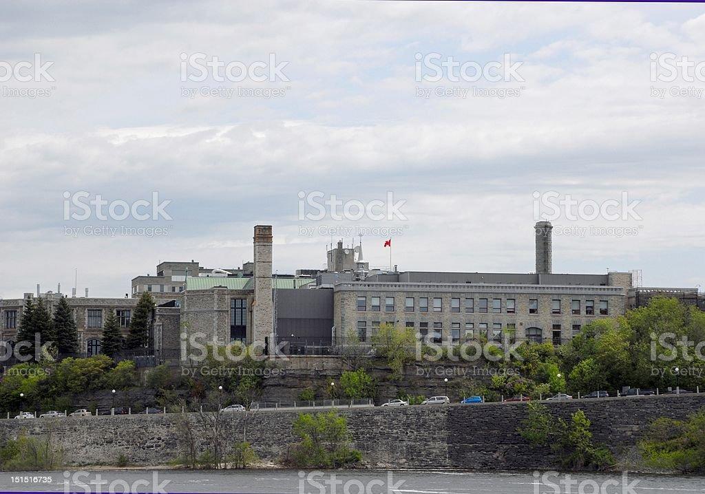 Royal Canadian Mint Ottawa stock photo