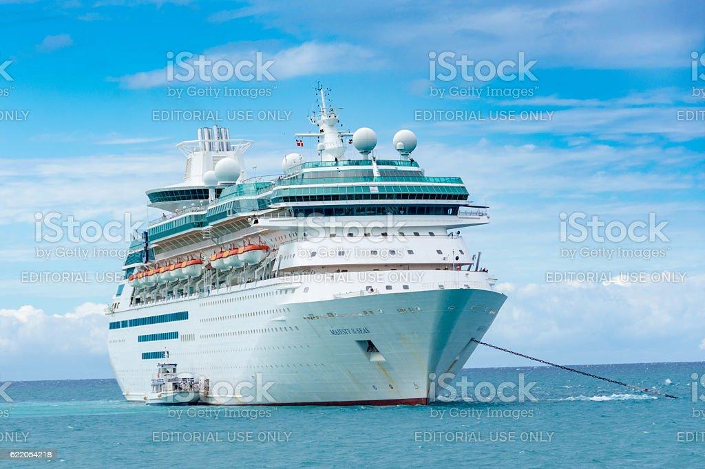 Royal Caribbean's Majesty of the Seas stock photo