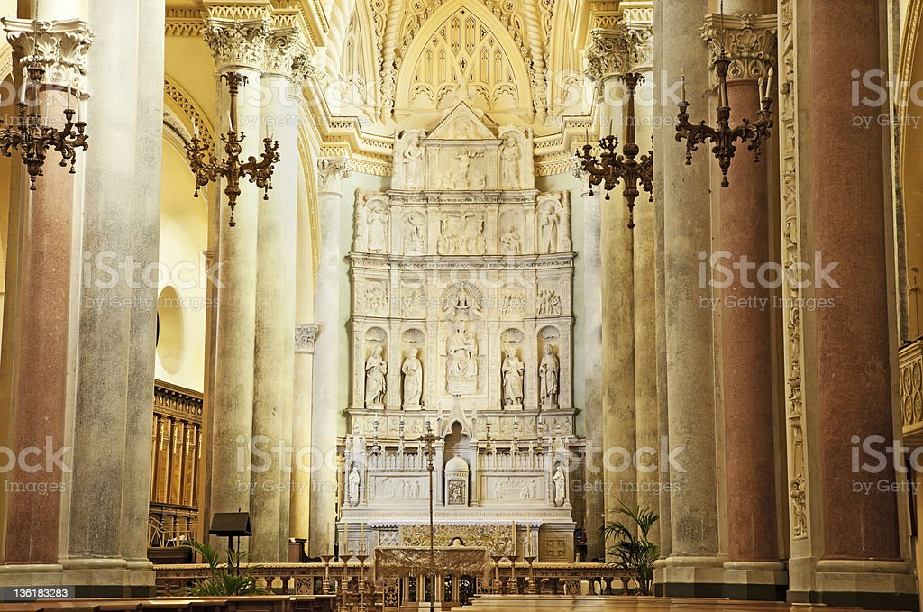 Royal Cathedral. royalty-free stock photo