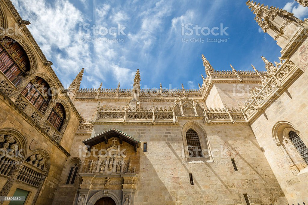 Royal Chapel Spain stock photo