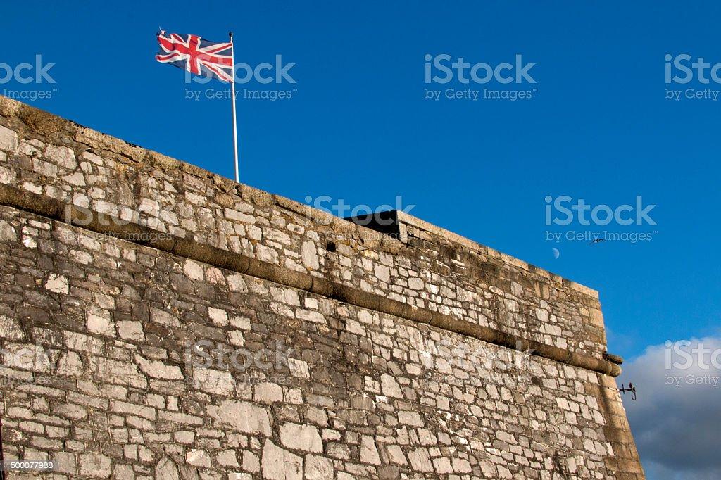 Royal Citadel Plymouth stock photo