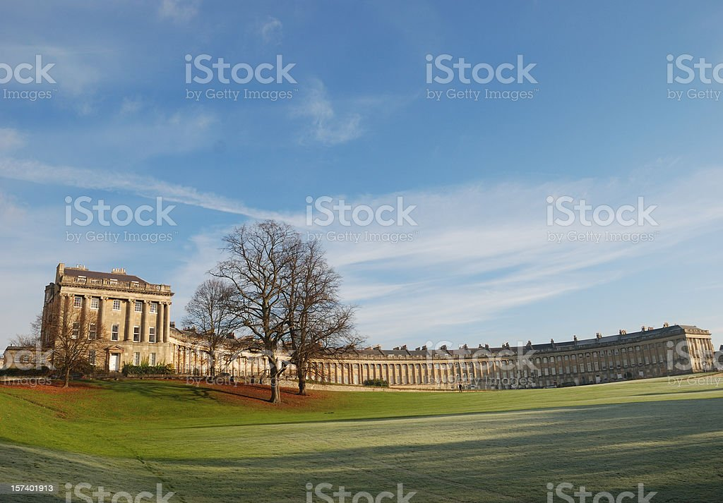 Royal Crescent, Bath stock photo