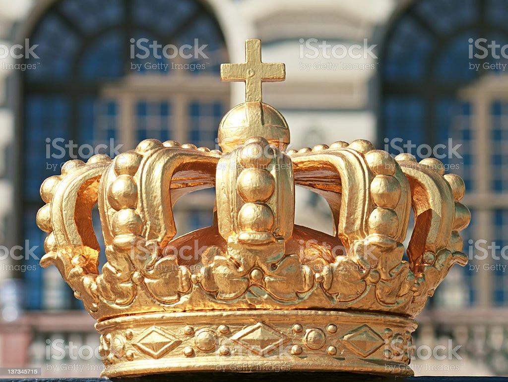Royal Crown, Stockholm stock photo