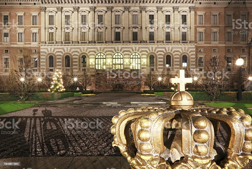 Royal Crown, Stockholm stock photo