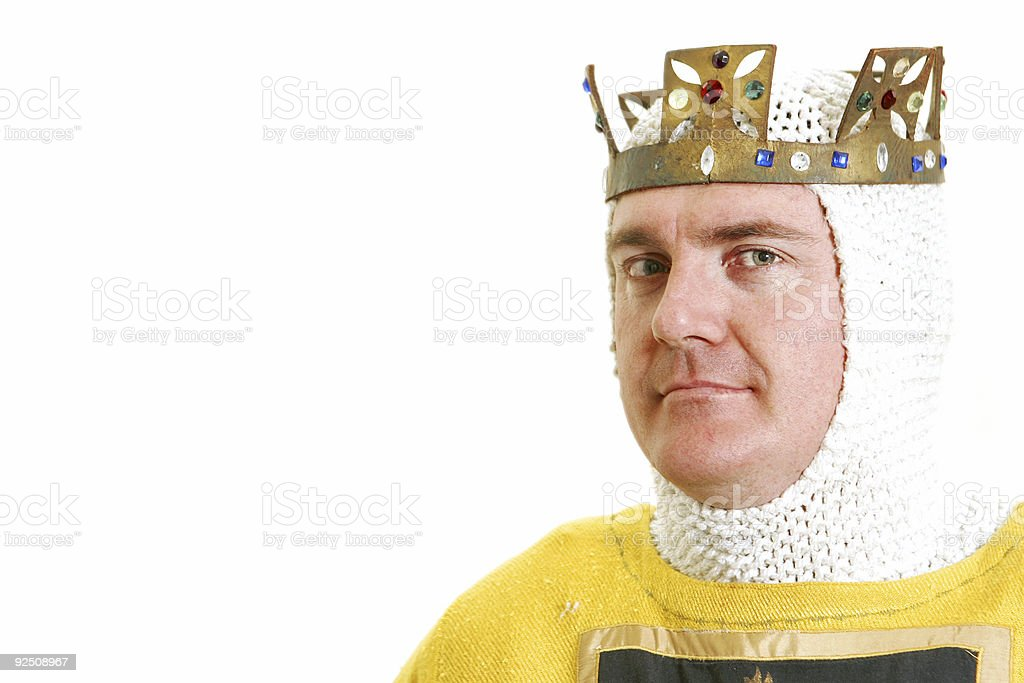 Royal Decree stock photo
