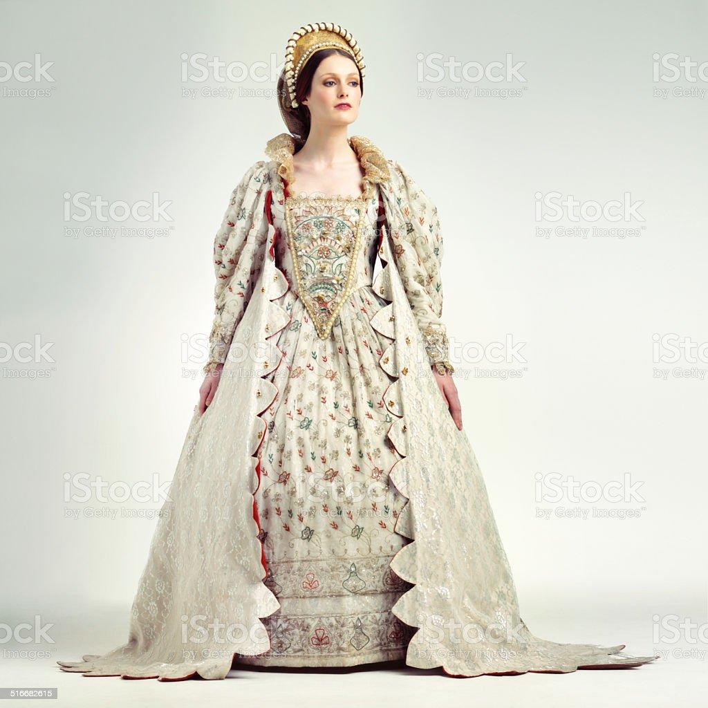 Royal dignity stock photo