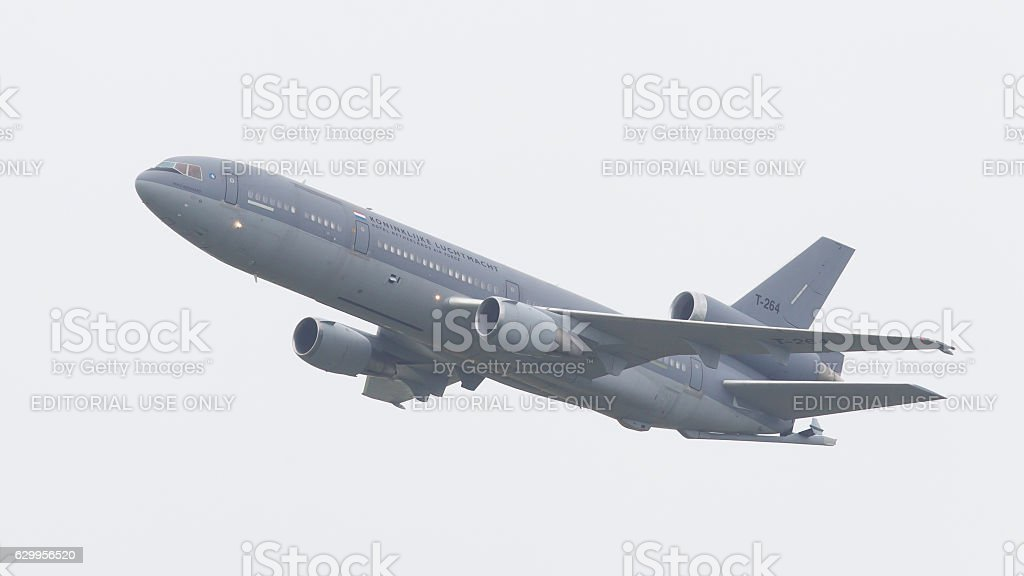 Royal Dutch Air Force McDonnell Douglas KDC-10 stock photo
