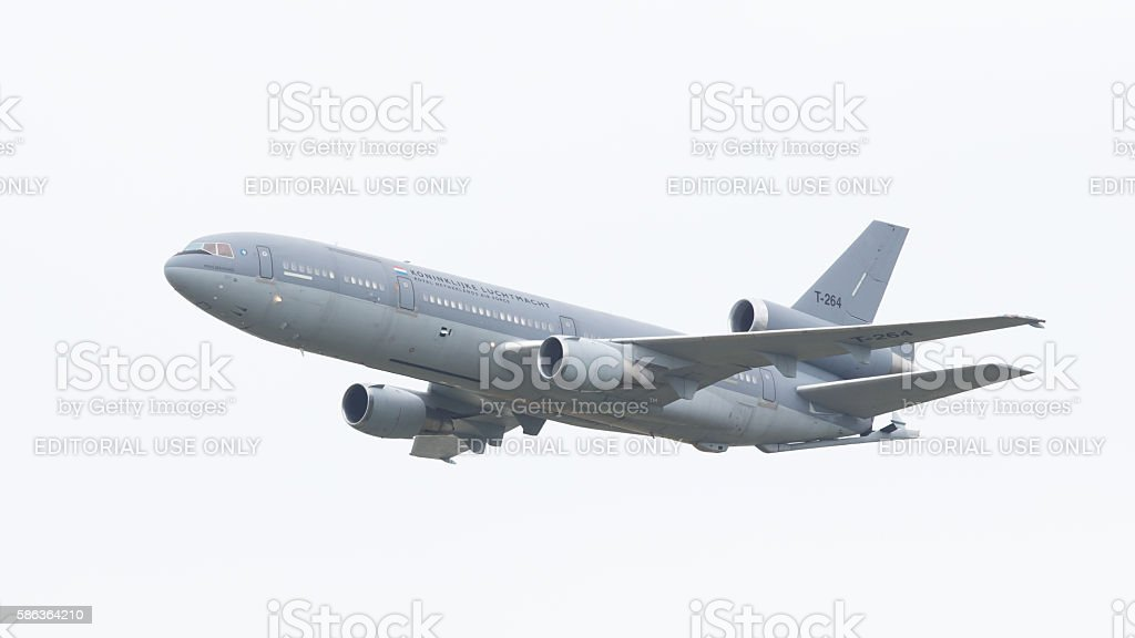 Royal Dutch Air Force McDonnell Douglas KDC-10-30CF stock photo