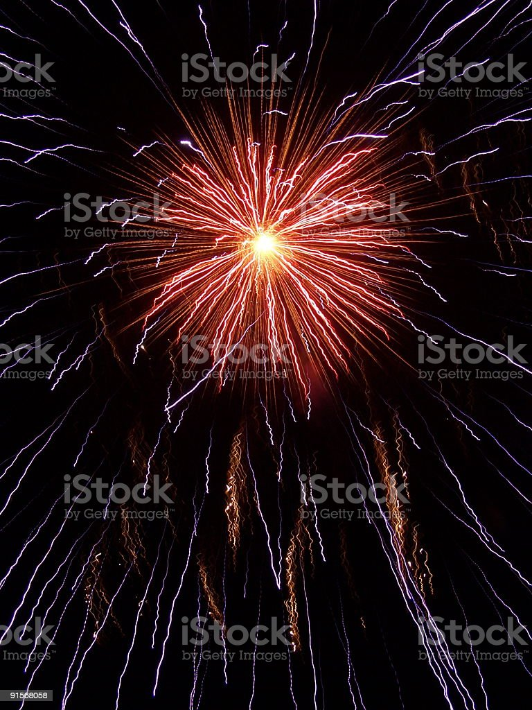 Royal Explosion stock photo