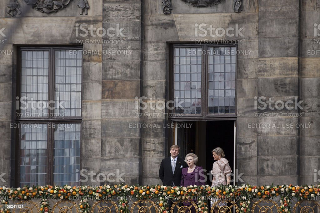 Royal familie stock photo