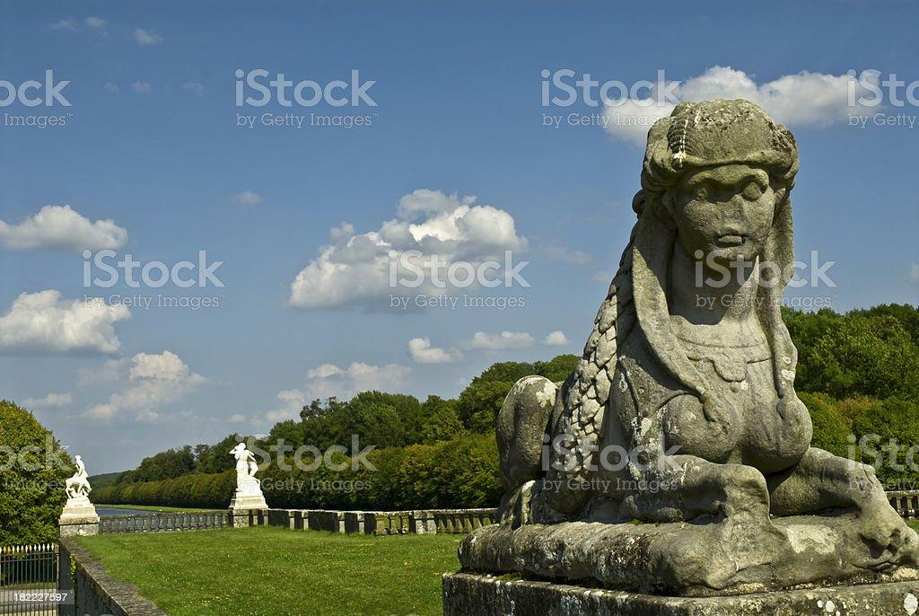 Royal Gardens stock photo