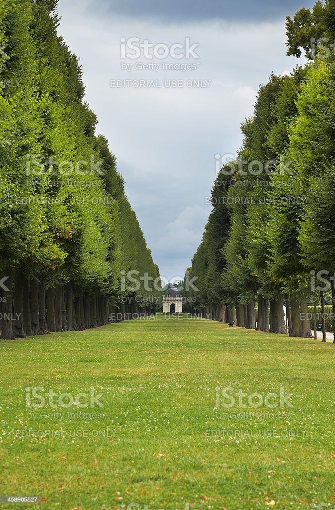 Royal Gardens royalty-free stock photo
