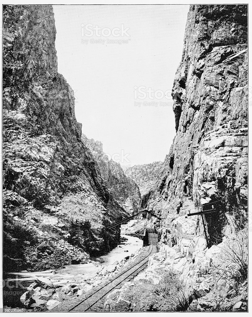 Image result for royal gorge 1880s