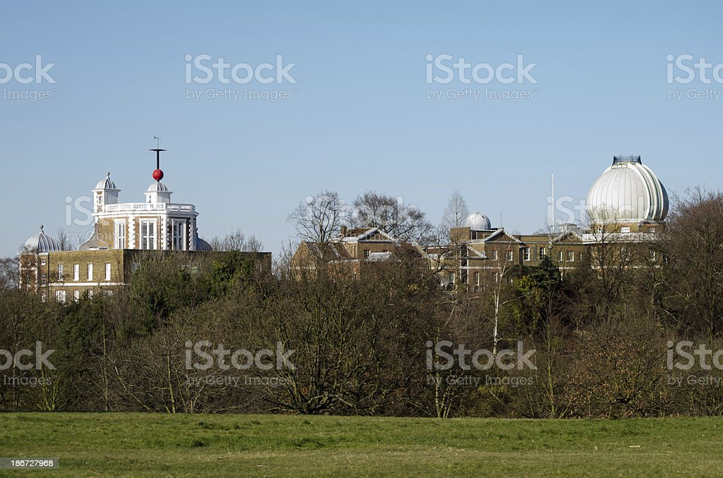 Royal Greenwich Observatory stock photo