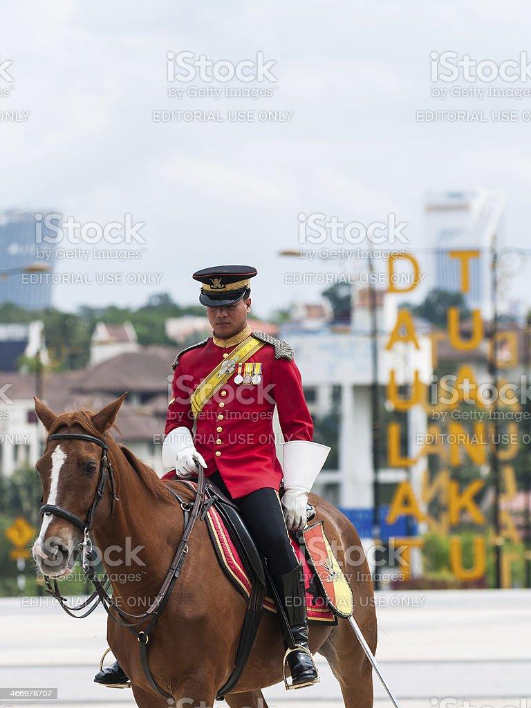 Royal Guards stock photo