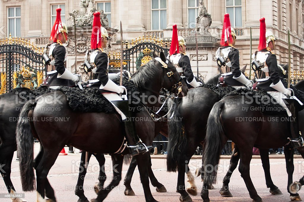 Royal Horse Guards Cavalry stock photo