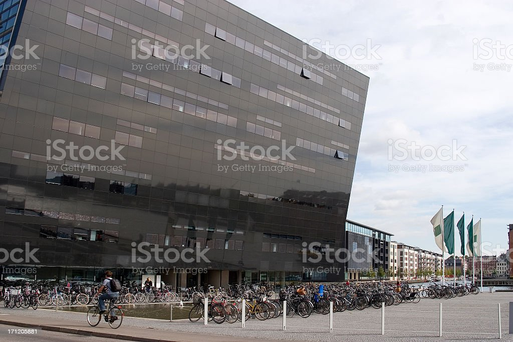 Royal Library, Copenhagen, Denmark royalty-free stock photo