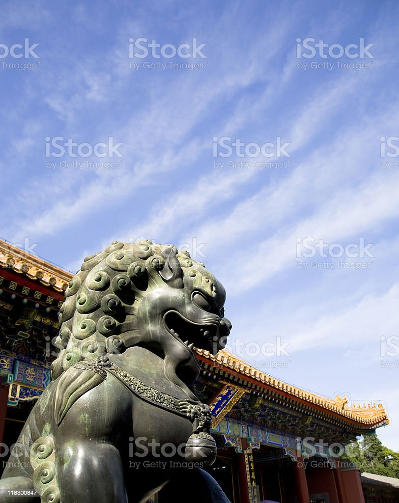 Royal Lion royalty-free stock photo