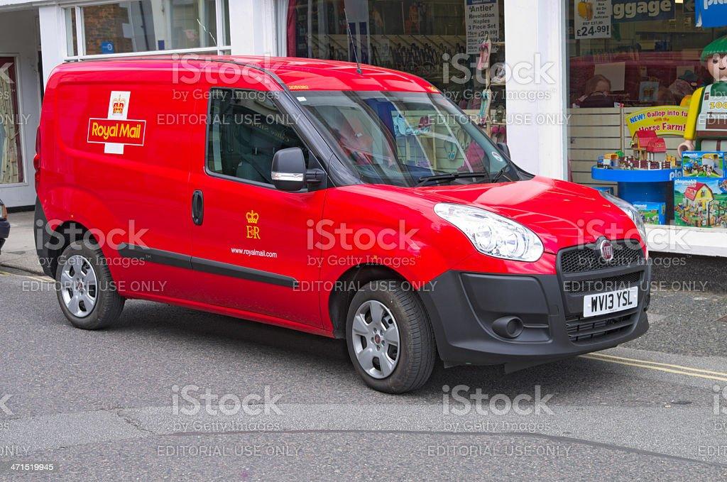 Royal Mail Post Van stock photo
