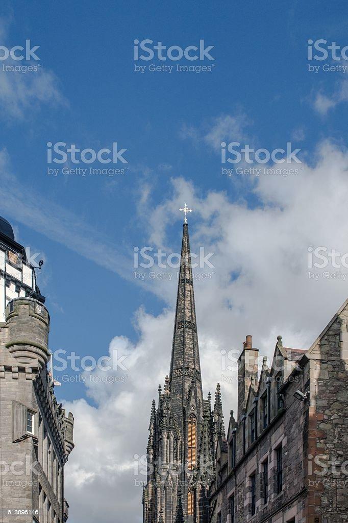 Royal Mile, Edimburgo - Scozia stock photo