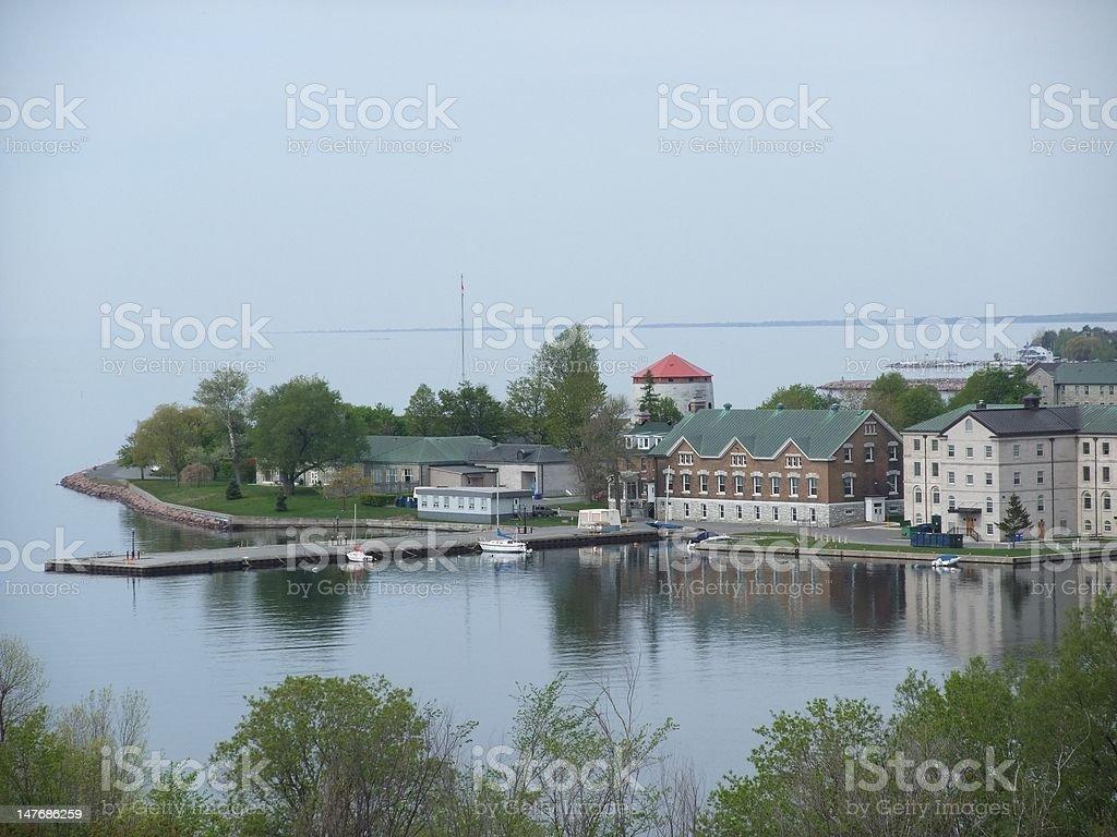 Royal Military College, Kingston Ontario royalty-free stock photo