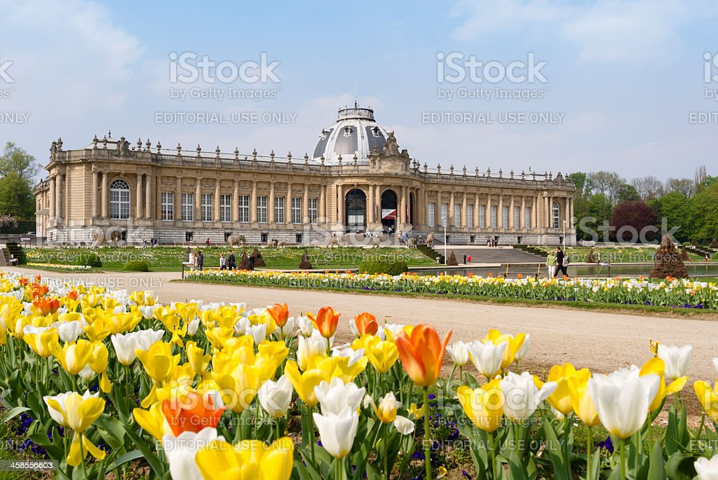 Royal Museum of Central Africa royalty-free stock photo