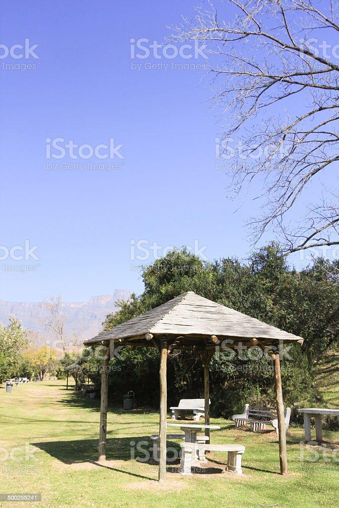 Royal Natal National Park in KwaZulu-Natal, South Africa royalty-free stock photo