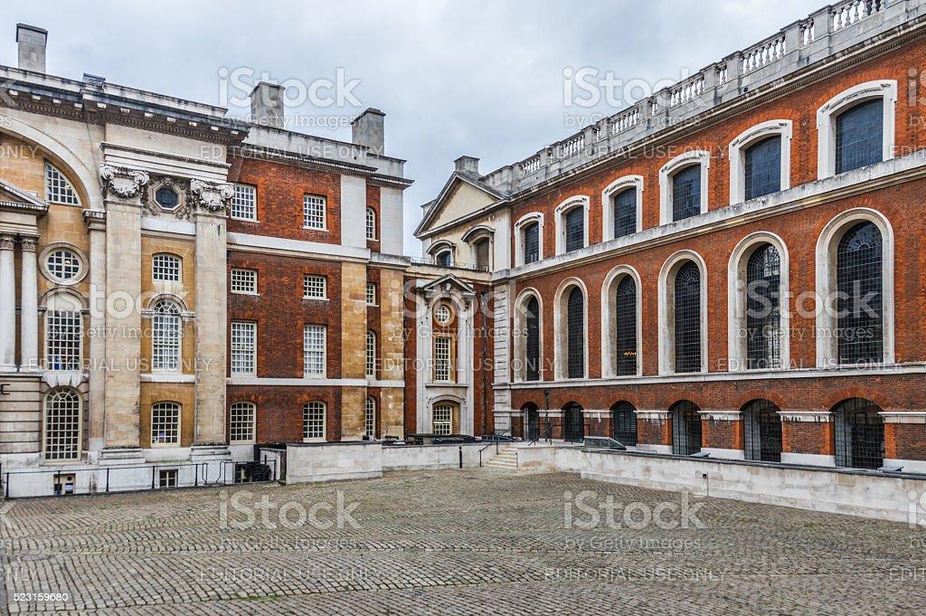 Royal Naval College, Greenwich, London stock photo