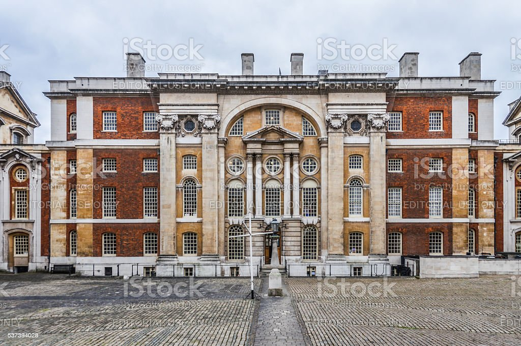 Royal Naval College, Greenwich, London stock photo
