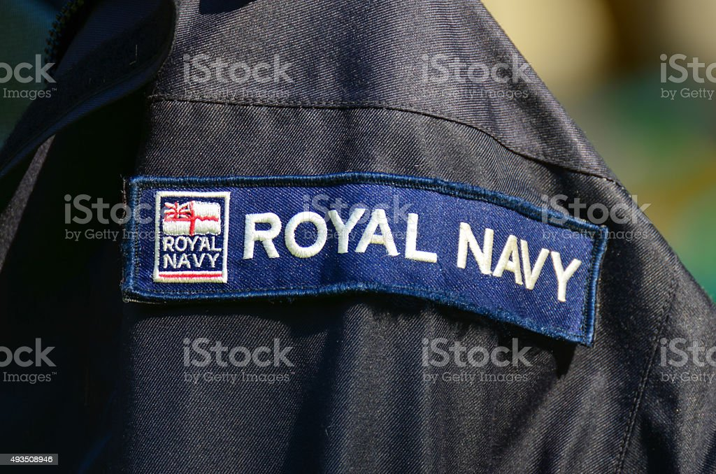 Royal Navy stock photo