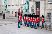 Royal New Year Celebration in Copenhagen, Denmark