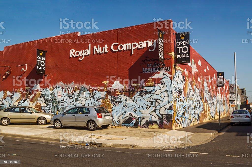 Royal Nut Company, Brunswick stock photo