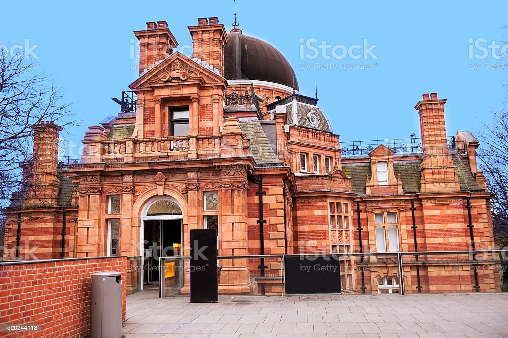 Royal Observatory Greenwich, London stock photo