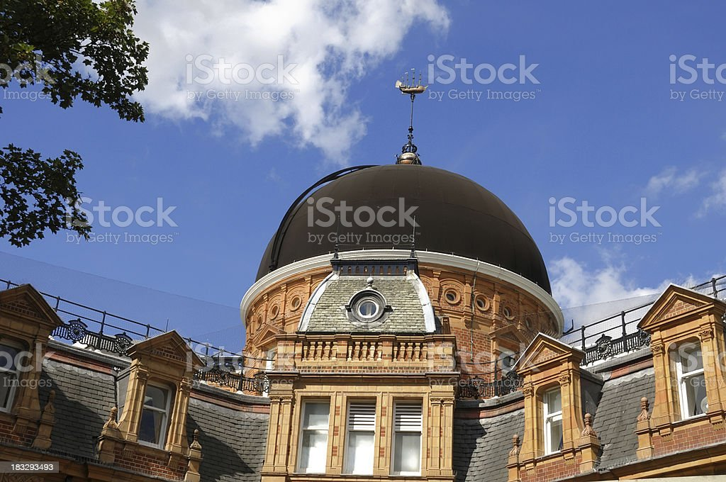 Royal Observatory, Greenwich stock photo